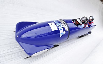 Winter bobsleigh