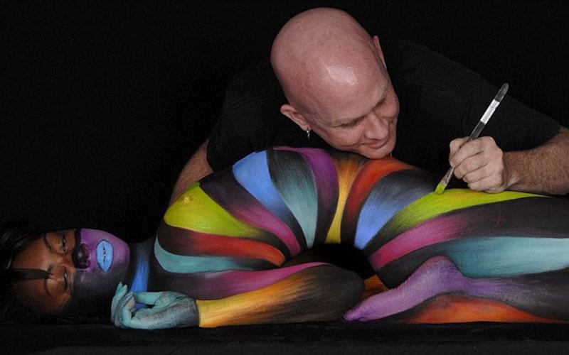 Strip Body Painting Riga Weekend