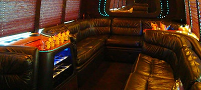 Strip Limo Bus Hire in Riga 16 seats