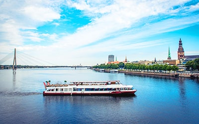 Riverboat Tour in Riga
